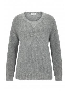 Pullover Rundhals mit Lurex