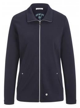 Sportive Sweatshirt-Jacke