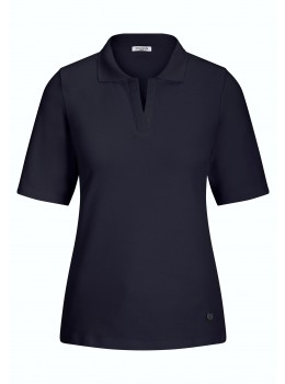 "Einfarbiges Polo ""Basic Deluxe"""