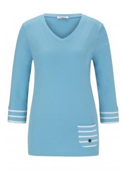 Leichtes 3/4-Arm Sweatshirt