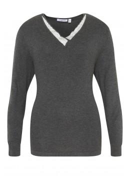 Festlicher Pullover mit Strass