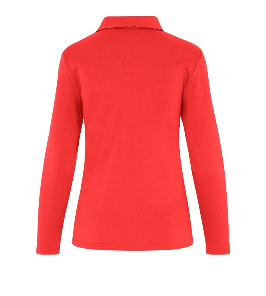 Sportliches Poloshirt 18092-358 back