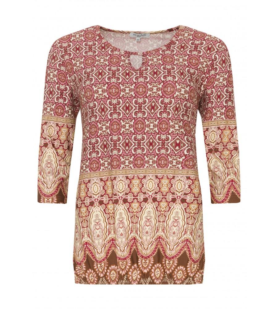 Trendiges Shirt mit Bohemiandruck 18149-990 front