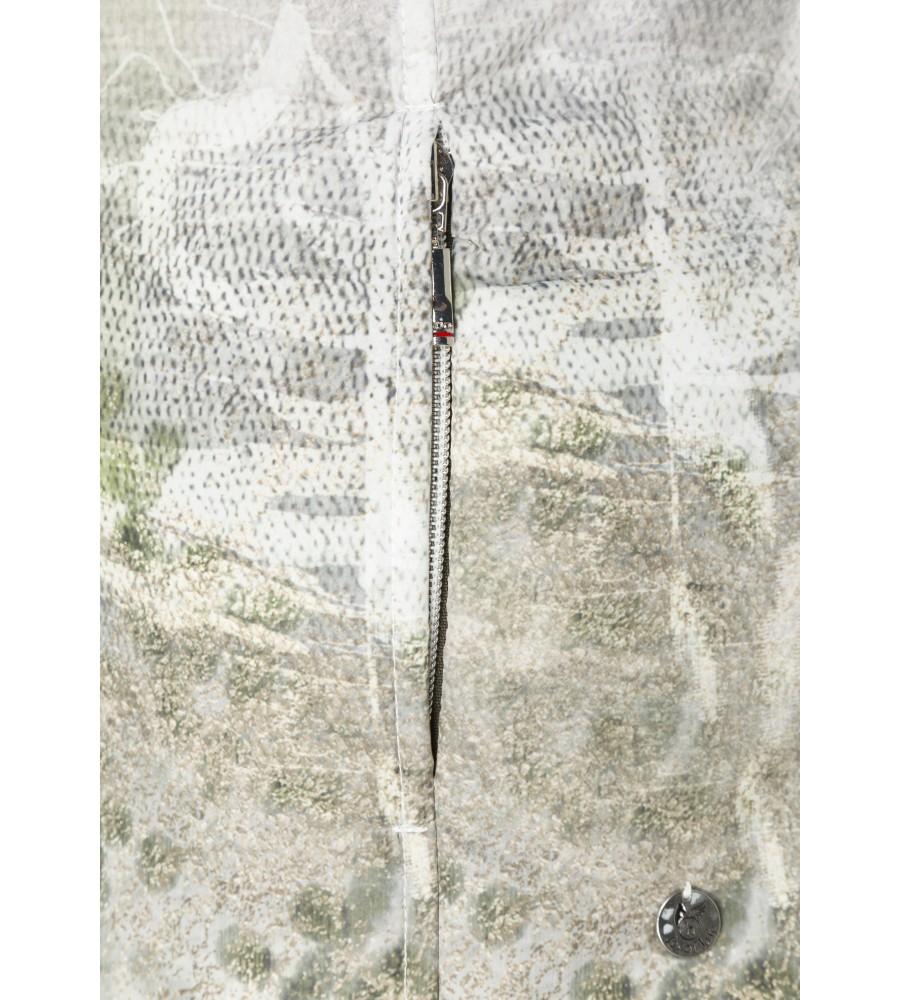 Modische leicht wattierte Jacke mit Exklusivdruck 18161-990 detail1