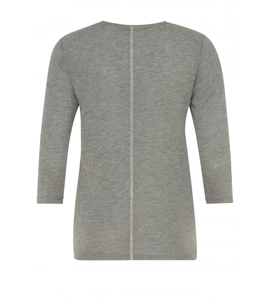 Feminines Shirt mit Folienprint 18193-104 back