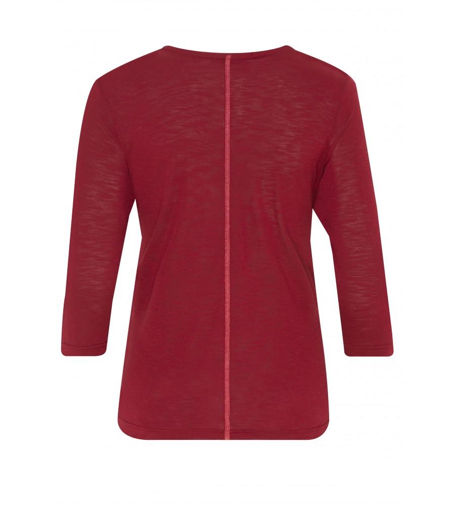 Feminines Shirt mit Folienprint 18193-373 back
