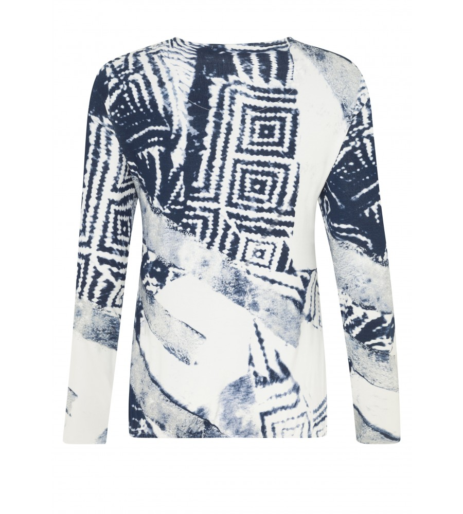 Modisches Shirt mit Alloverprint 18201-990 back