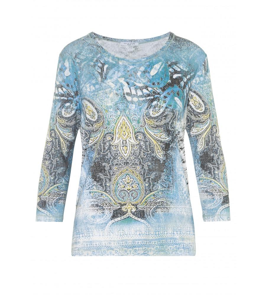 Modisches Shirt mit Exklusivdruck 18203-990 front