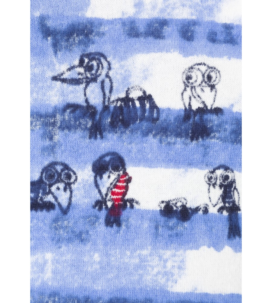 Modischer Pullover in Sprayer-Optik 18316-699 detail1