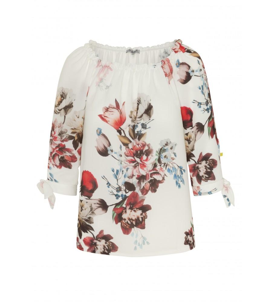 Modische Bluse im Carmen Stil 18373-202 front