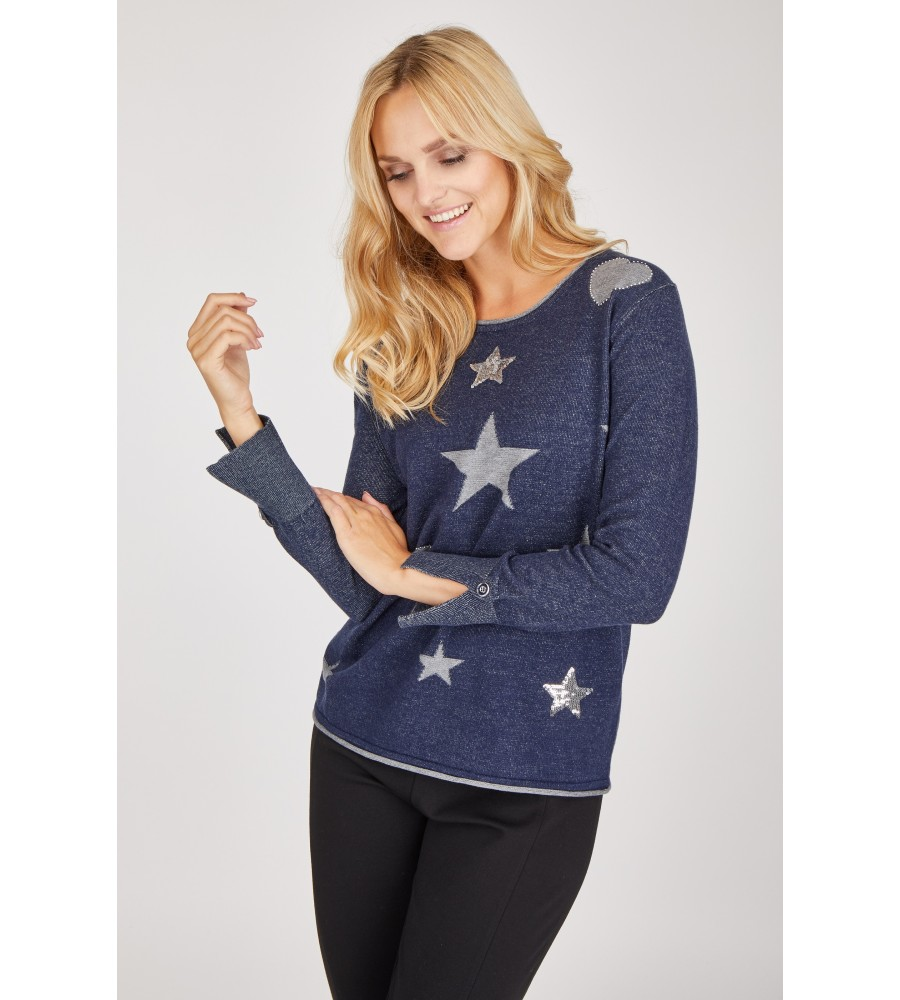 Pullover langarm 18409-609 front