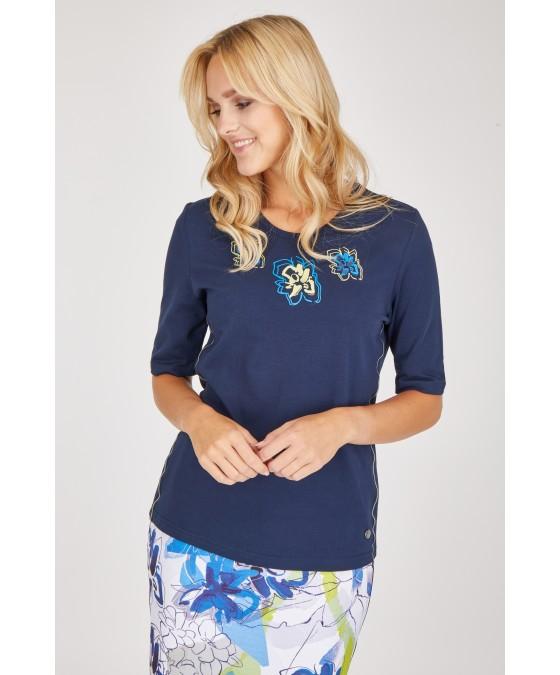 Shirt Jersey Baumwolle 18519-609 front