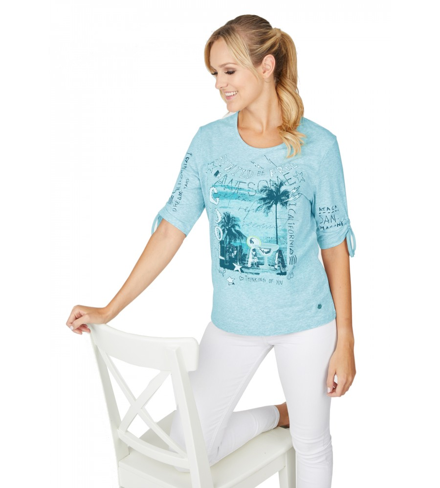 Shirt Jersey Baumwolle 18529-513 front