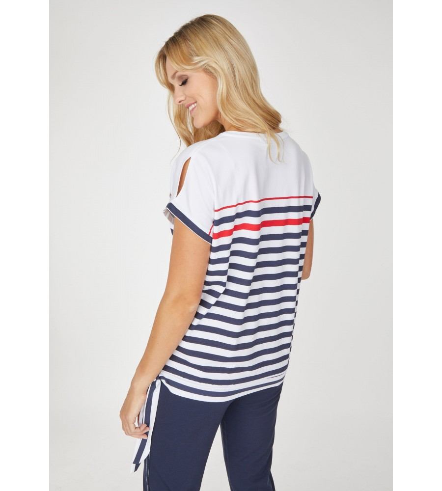 Shirt Blousonform mit Schleife 18560-634 back