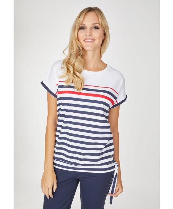 Shirt Blousonform mit Schleife 18560-634 front