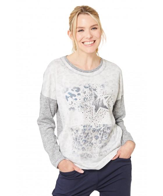Leicht-Sweatshirt 18715-109 front