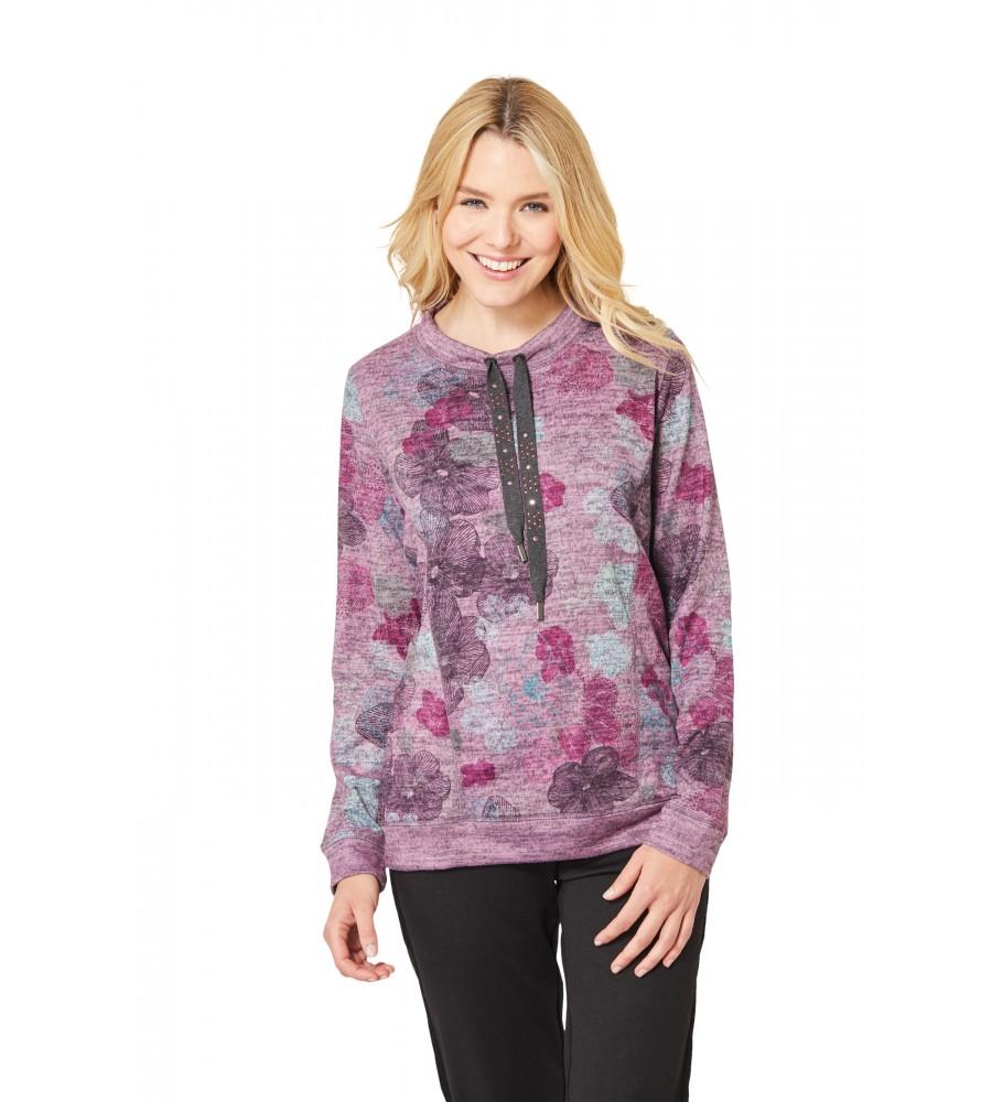 Sweatshirt mit Rollkragen 18728-704 front