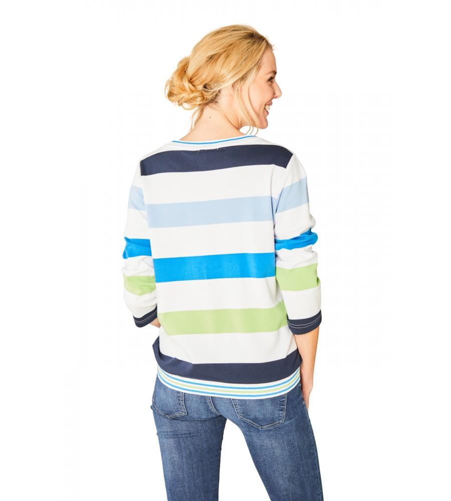 Stay Fresh Sweatshirt Rundhals Dreiviertelarm 18808-631 back