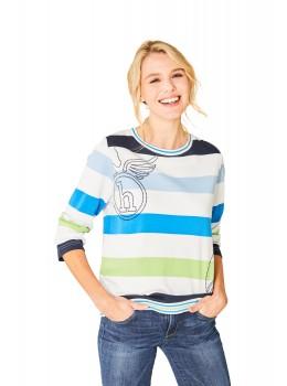 Stay Fresh Sweatshirt Rundhals Dreiviertelarm