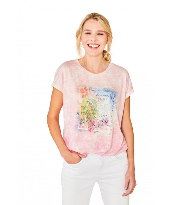 Trendiges Shirt Washout-Optik 18823-307 front