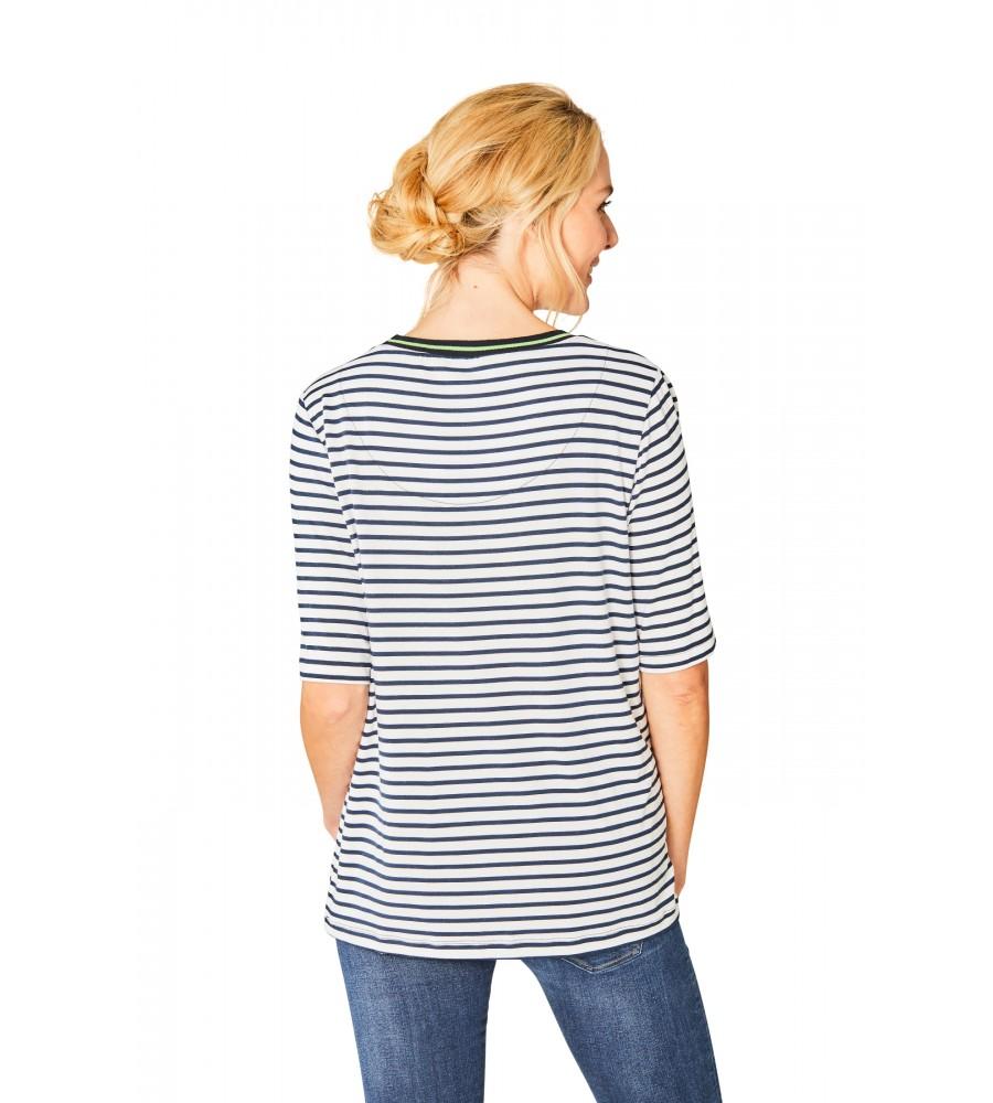 Hochwertiges Shirt Halbarm 18826-631 back