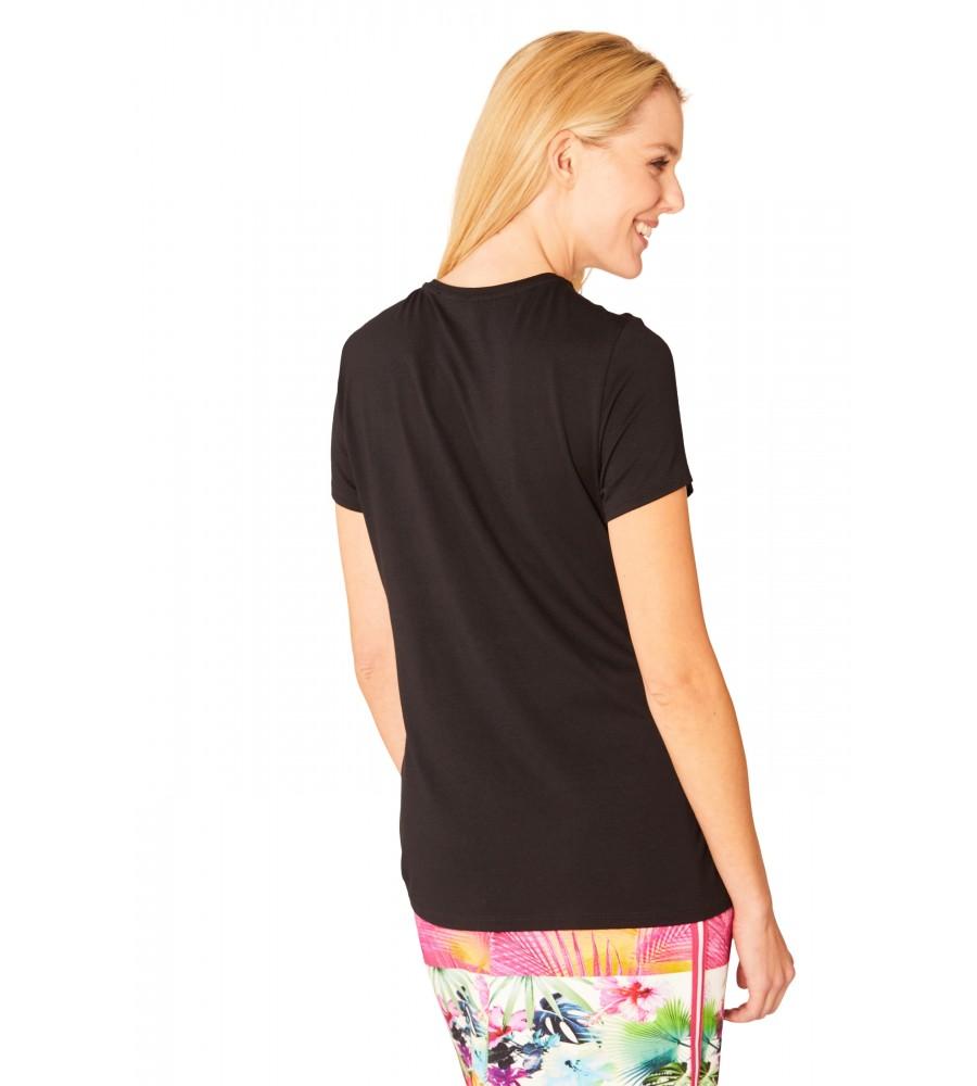 Modisches Shirt Rundhals Halbarm 18835-100 back