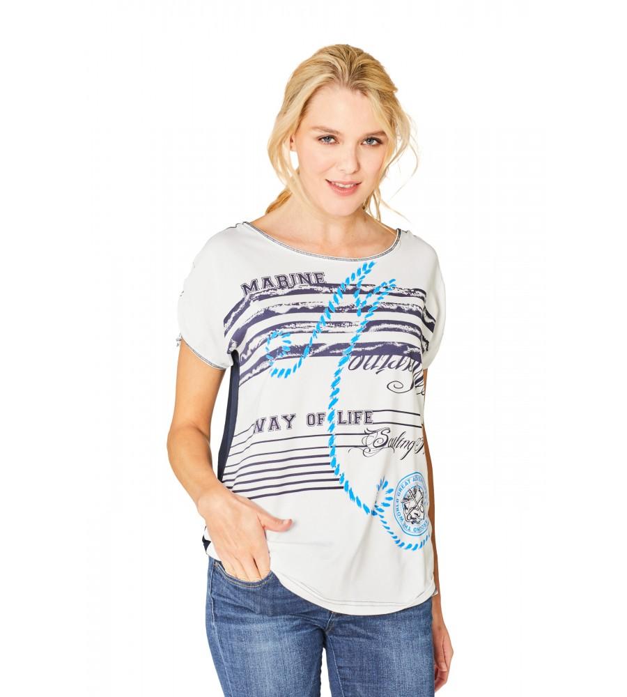Hochwertiges Shirt Rundhals 18850-609 front