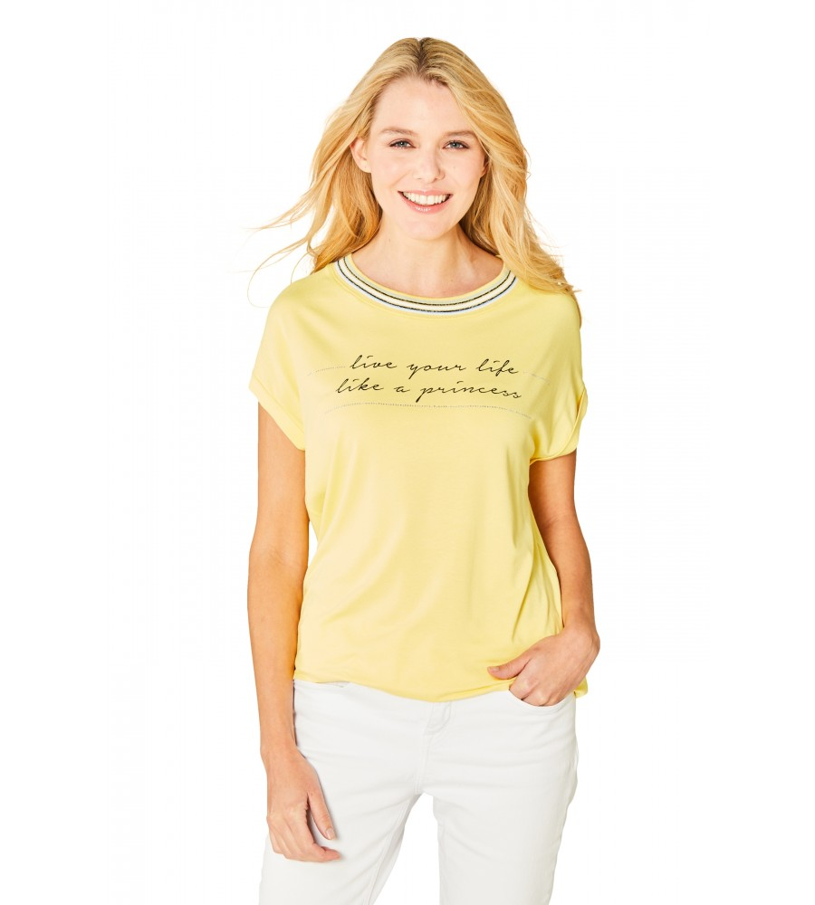 Hochwertiges Shirt Halbarm 18860-407 front