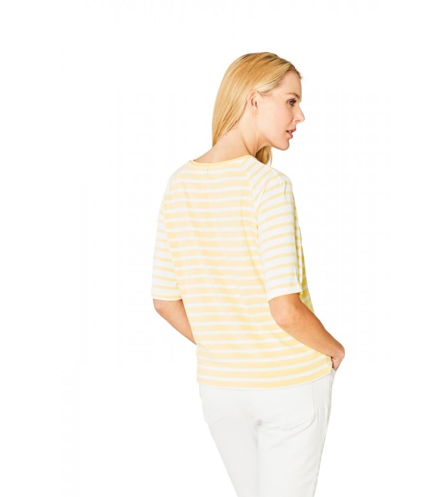Hochwertiges Shirt Rundhals Halbarm 18862-407 back