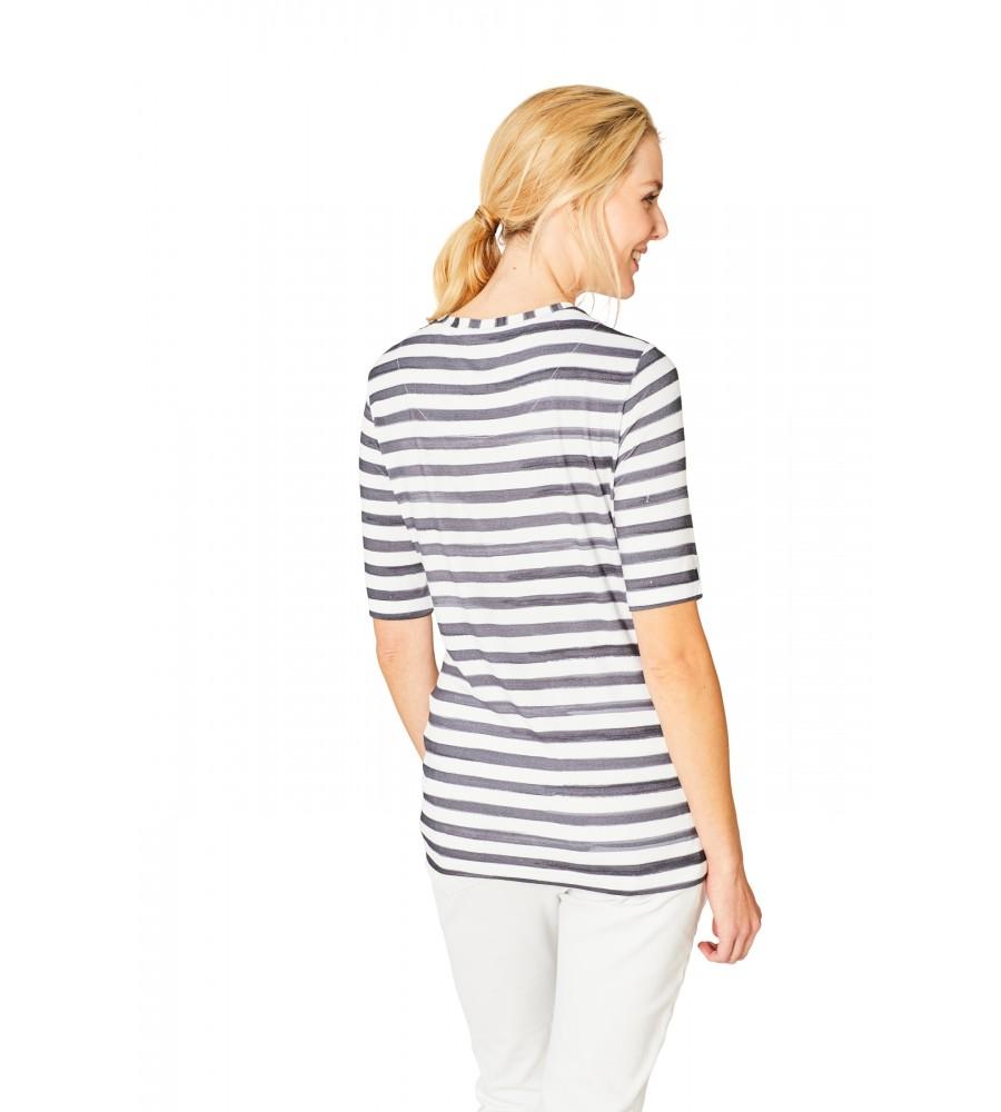 Hochwertiges Shirt Rundhals Halbarm 18872-226 back