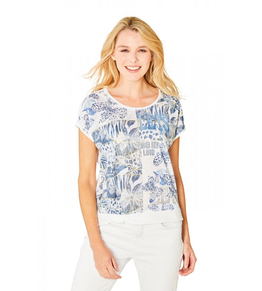 Edles Shirt Rundhals 18884-624 front