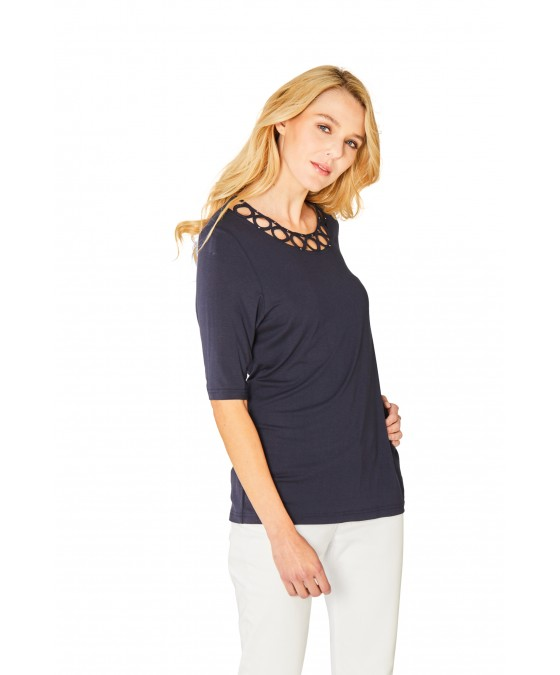 Hochwertiges Shirt Halbarm 18891-609 front