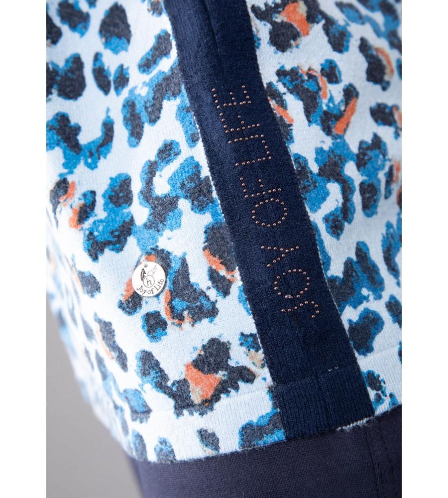 Pullover mit halsfernem Kelchkragen 18919-604 detail1