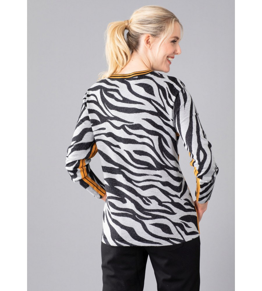 Pullover mit Animal-Print 18947-124 back