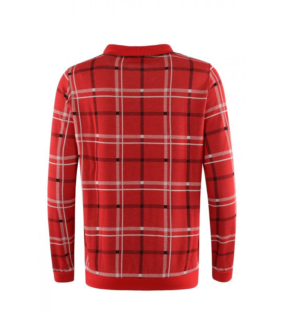 Leicht-Sweatshirt mit Stehkragen 18978-369 back