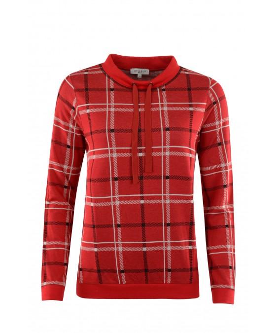 Leicht-Sweatshirt mit Stehkragen 18978-369 front