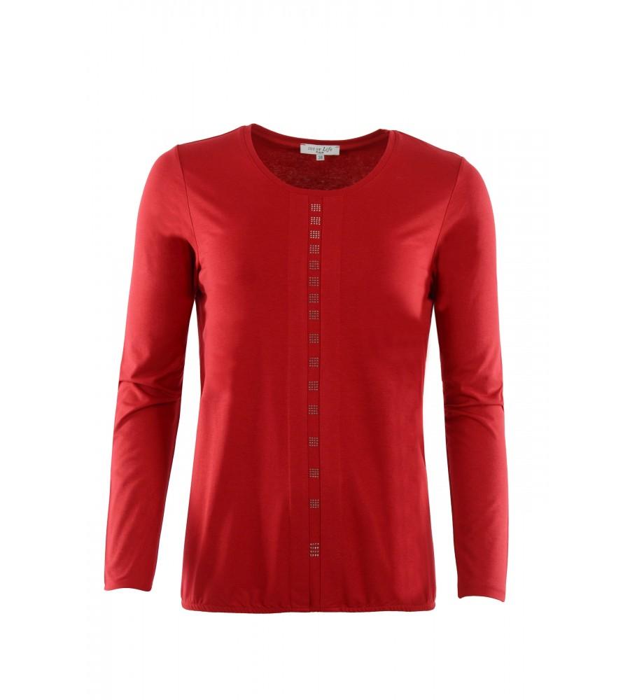 Blusenshirt mit elastischem Bund 18985-369 front