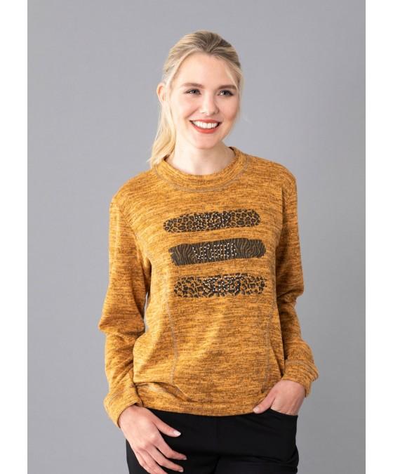 Strickshirt Blousonform 19005-405 front