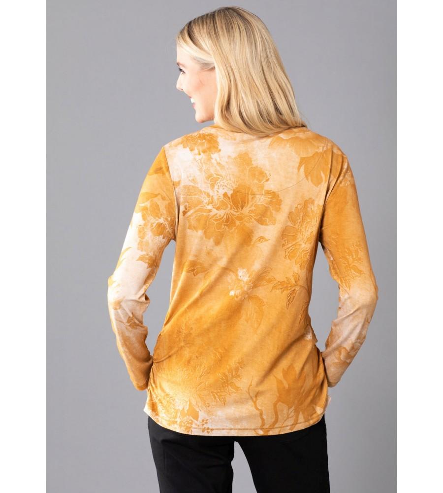 Shirt im Washout Look 19008-405 back