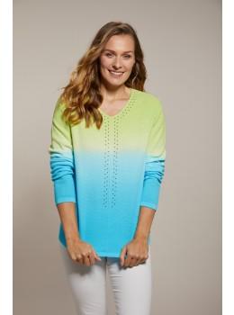 Dip-Dye Pullover