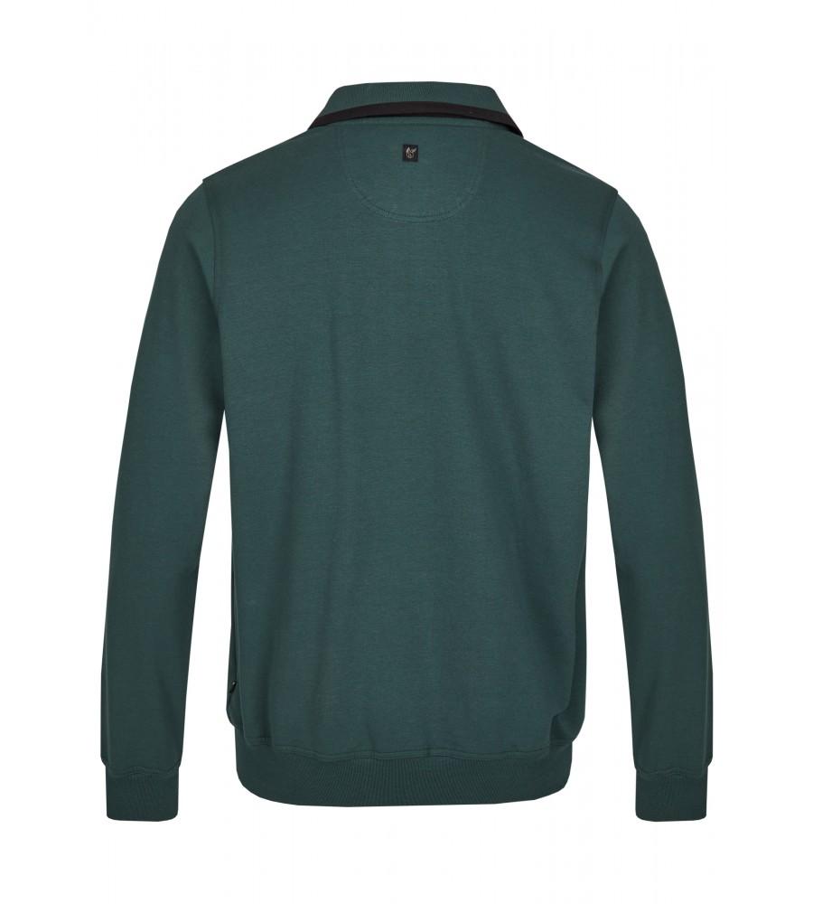 Sweatshirt mit Troyerkragen 20023-6-515 back