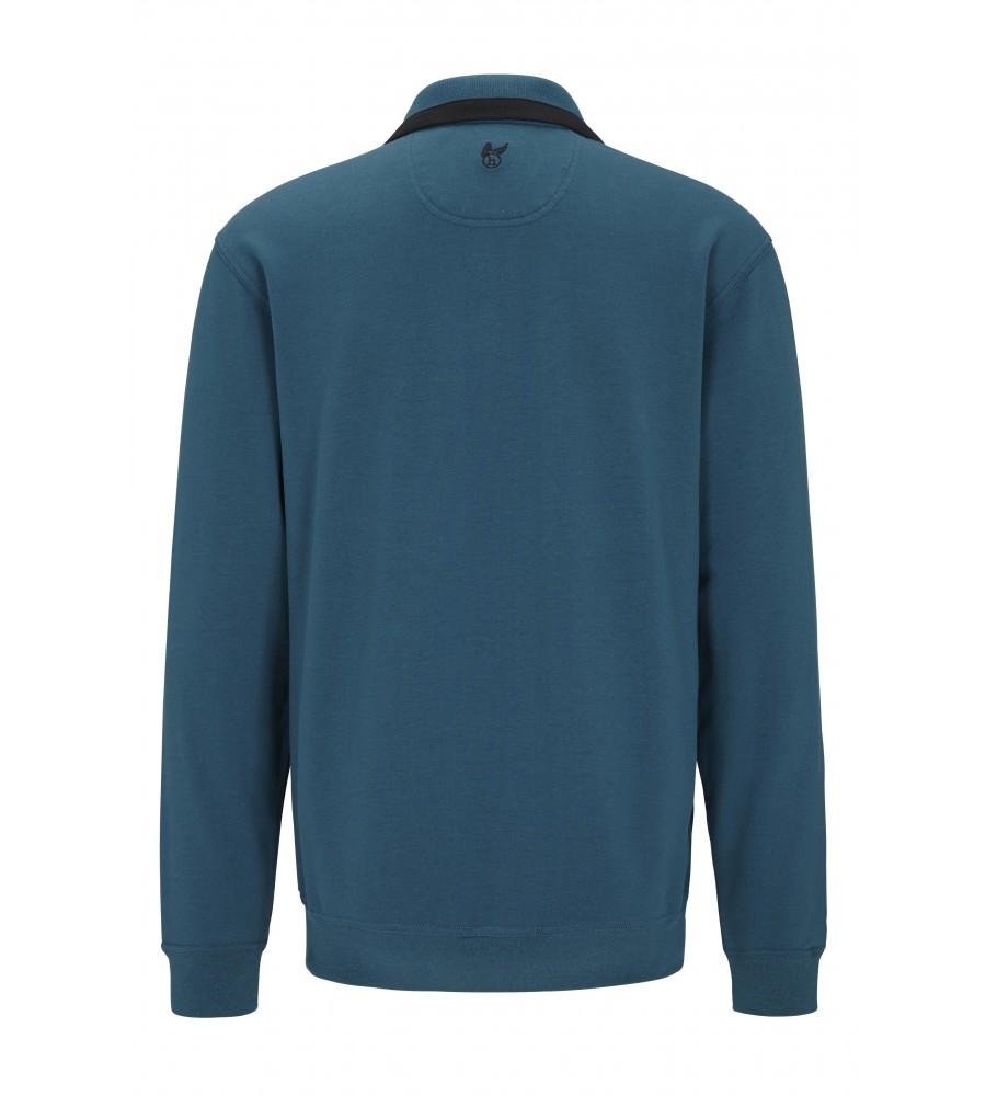 hajo Polo & Sportswear Sweatshirtjacke mit Troyerkragen 20024-4-750 back