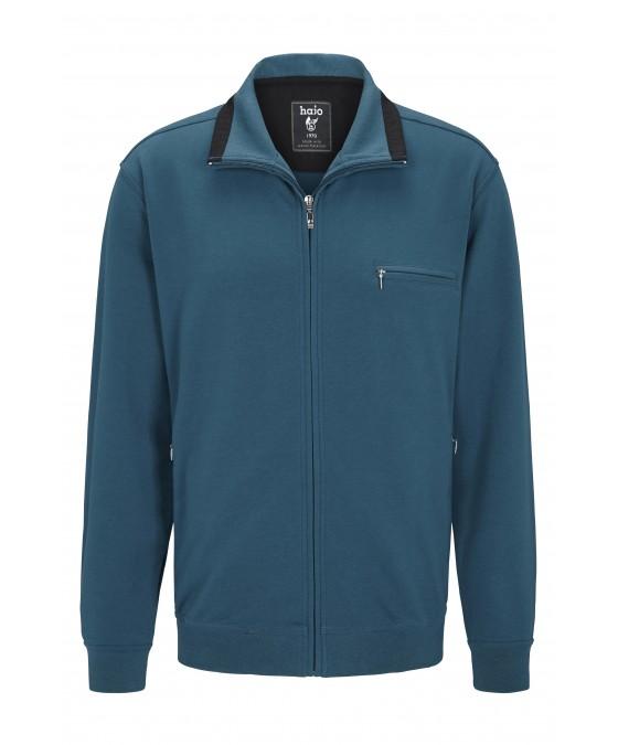 hajo Polo & Sportswear Sweatshirtjacke mit Troyerkragen 20024-4-750 front