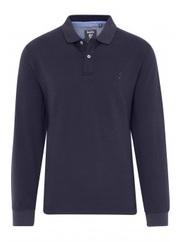 Elastisches Pikee-Polo, Modern-Fit