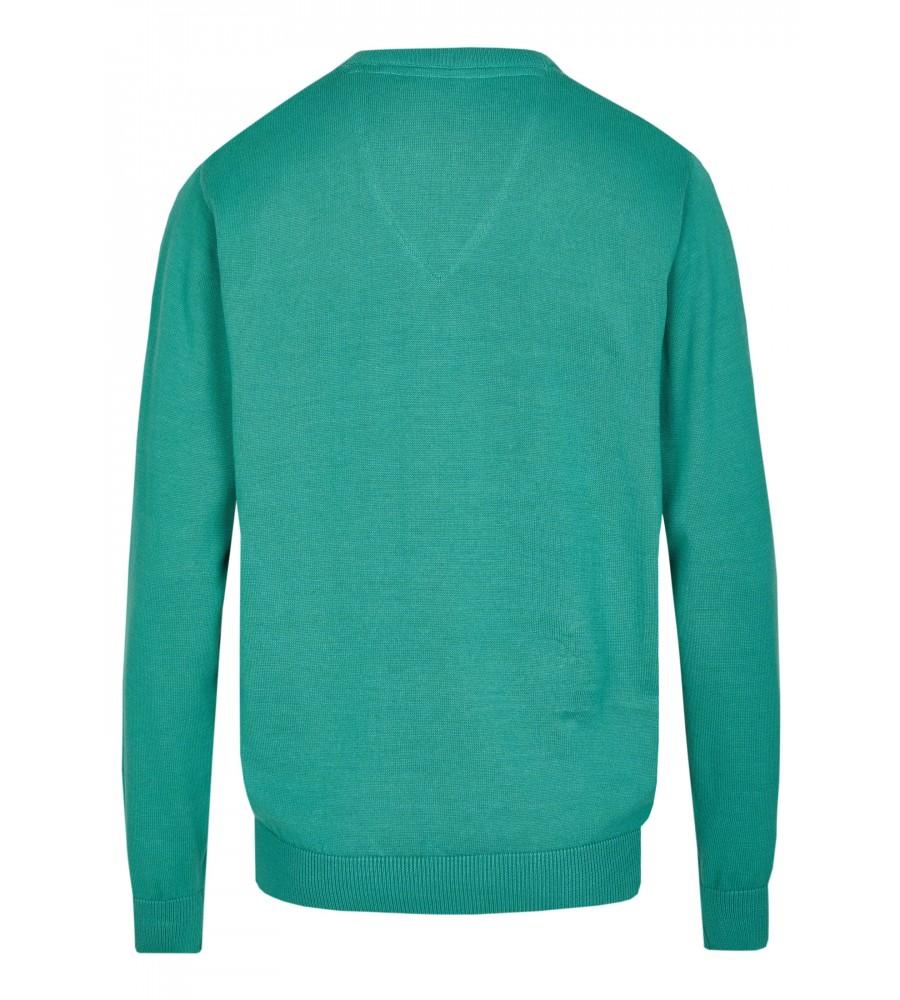 Pullover mit V-Ausschnitt in großen Größen 20076-1X-526 back