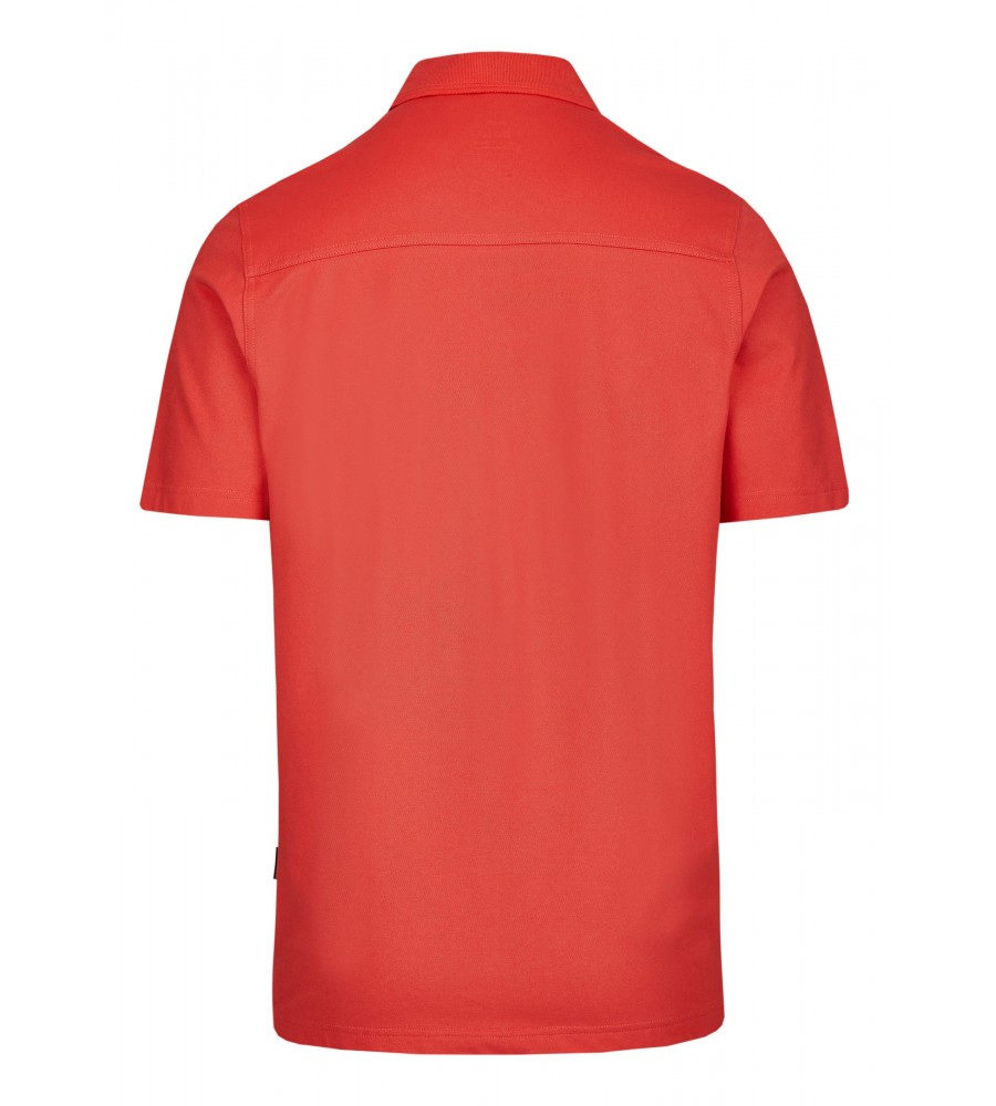 Basic Pikee-Poloshirt 20083-320 back