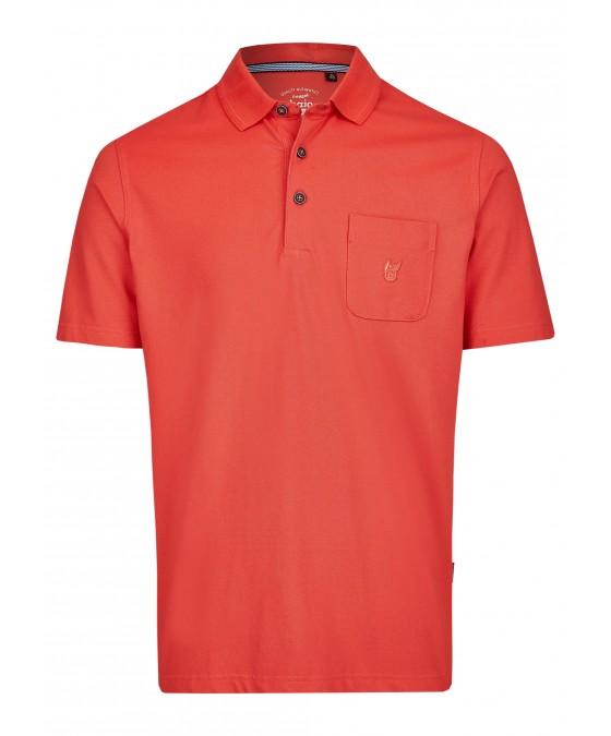 Basic Pikee-Poloshirt 20083-320 front