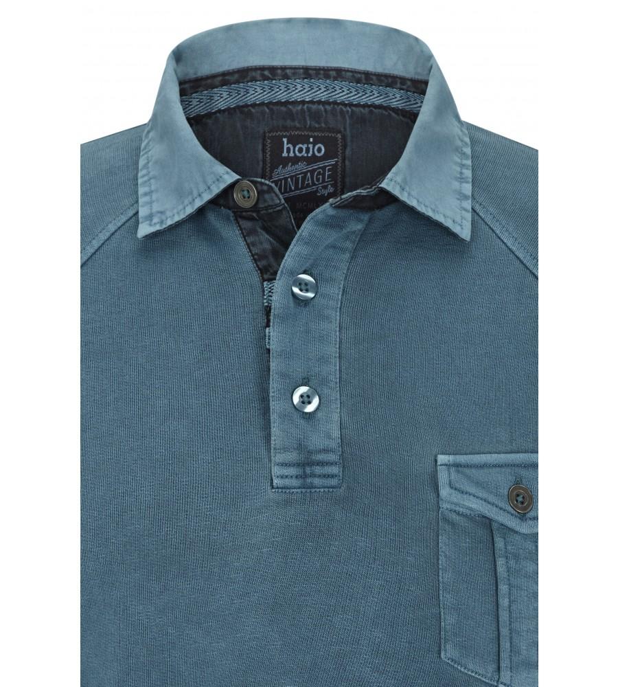 hajo Polo & Sportswear Sportliches Washer-Rugby-Shirt 25750-750 detail1