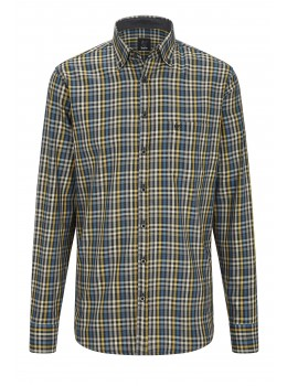 H Hemd button-down kariert