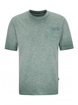 T-Shirt in gewaschener Optik